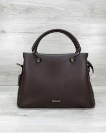 Женская сумка «Грана» шоколадная