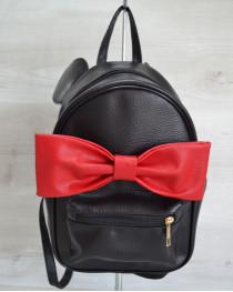 Городской женский рюкзак «Мики» черный