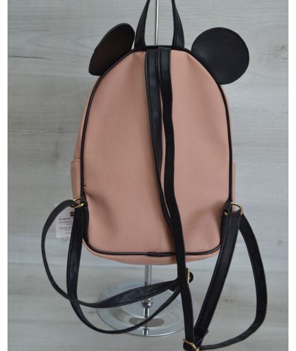 Молодежный рюкзак «Мики» пудровый