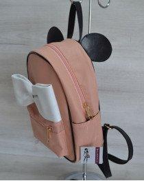 Городской женский рюкзак «Мики» пудровый