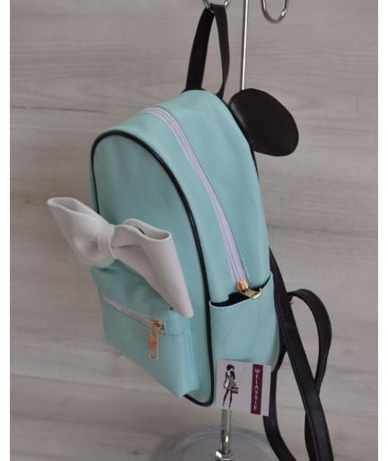 Молодежный рюкзак «Мики» бирюзовый