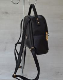 Маленький рюкзак черного цвета