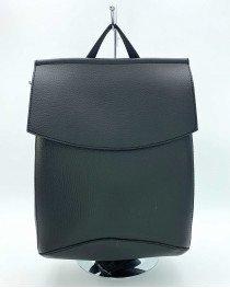 Рюкзак сумка оптом женский молодежный черного цвета