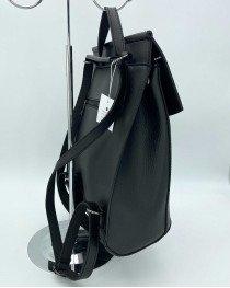 Рюкзак женский молодежный черного цвета