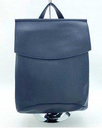 Рюкзак сумка женский молодежный синего цвета