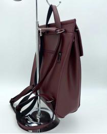 Рюкзак молодежный  бордового цвета