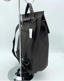 Молодежный сумка-рюкзак шоколадногоо цвета