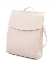 Женский сумка рюкзак молодежный бежевый
