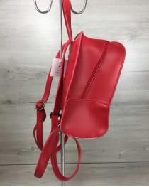 Молодежный рюкзак Цветы красного цвета