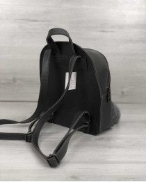 Рюкзак «Бонни» серый с пушком