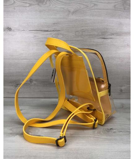 Рюкзак  «Бонни» силиконовый желтый