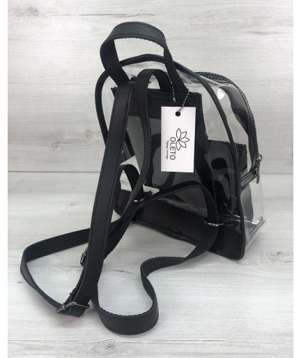 Рюкзак «Бонни» силиконовый черный