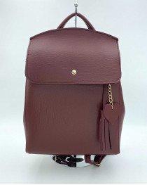 Рюкзак «Сердце» бордового цвета