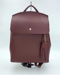 Рюкзак «Сердце» оптом бордового цвета