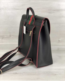 Рюкзак сумка женская Барб черного цвета
