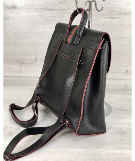 Рюкзак женский «Барб» черный