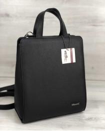 Рюкзак каркасный молодежный черного цвета