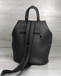 Женская сумка рюкзак «Габи» серый