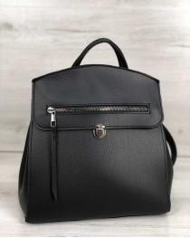 Молодежный сумка-рюкзак Дэнис черного цвета