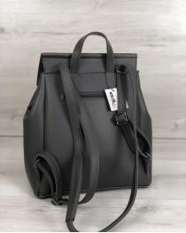 Рюкзак «Фаби» молодежный  серый