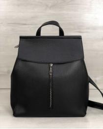 Рюкзак Фаби черного цвета