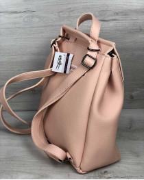 Молодежный рюкзак Фаби пудрового цвета