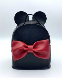 Сумка - рюкзак Микки черного цвета