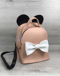 Рюкзак «Микки» пудрового цвета