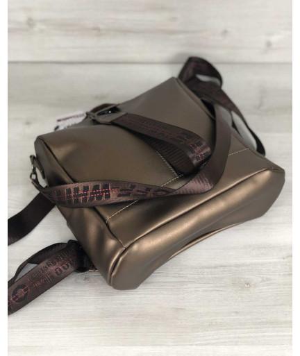 Рюкзак сумка «Angelo» бронза
