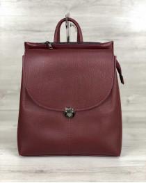 Рюкзак сумка «Эшби» бордовый