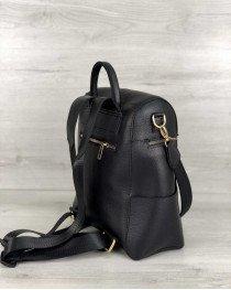 Женский рюкзак «Фроги» черный