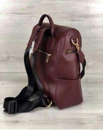 Женский рюкзак «Фроги» бордовый