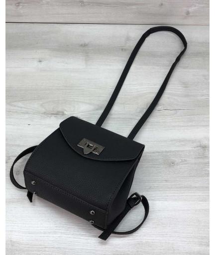 Сумка-рюкзак Chris графит