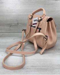 Рюкзак сумка женский  «Chris» пудра
