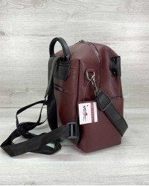 Рюкзак женский «Dacio» темно бордовый