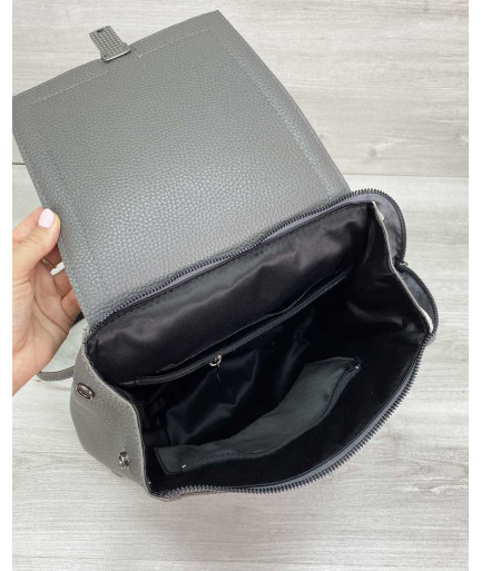 Сумка рюкзак «Луи» серый