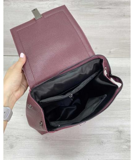 Сумка рюкзак «Луи» бордовый