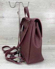 Женский рюкзак «Луи» бордовый