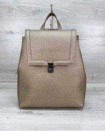 Рюкзак женский «Луи» золотой