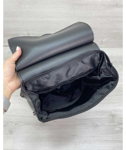 Сумка рюкзак «Марио» черный