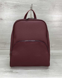 Женский рюкзак «Дин» бордовый