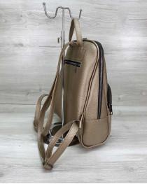 Женский рюкзак «Дин» золотой