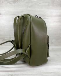 Женский рюкзак «Андрес» оливковый