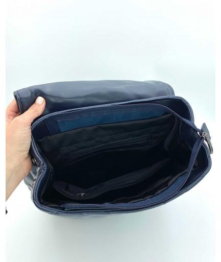 Сумка-рюкзак «Харпер» темно синий