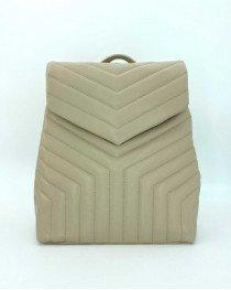 Сумка-рюкзак «Луки» бежевый