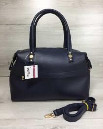 Женская сумка Ирен синего цвета