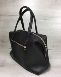 Женская сумка Ирен черного цвета
