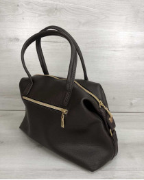 Женская сумка Ирен шоколадного цвета