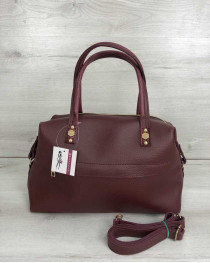 Женская сумка Ирен бордового цвета