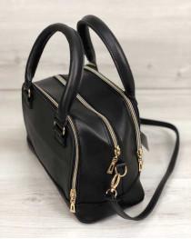 Женская сумка Лили черного цвета